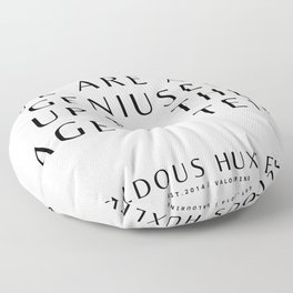 36   Aldous Huxley Quotes 200905 The Author Of Brave New World Literature Literary Writing Writer Floor Pillow