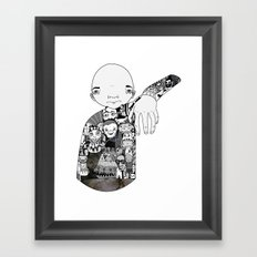 Claw Framed Art Print