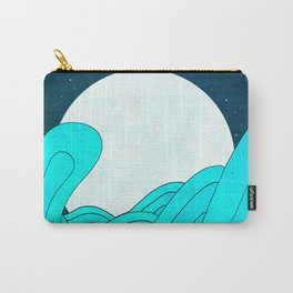The Moon and the Sea Carry-All Pouch