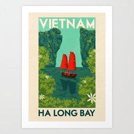 Vietnam - Ha Long Bay Art Print