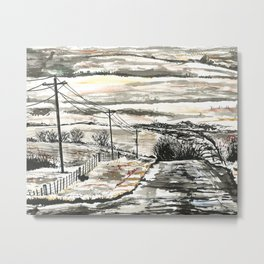 Flint Hills Metal Print