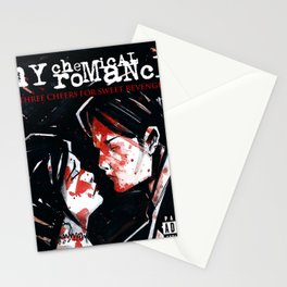 my chemical romance tour 2020 2021 three cheers maknyak Stationery Cards