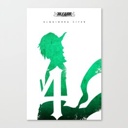 Espada #4 Ulquiorra Cifer Canvas Print