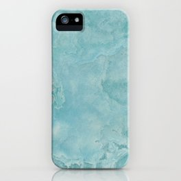 Turquoise Sea Marble iPhone Case