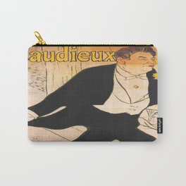 Vintage poster - Caudieux Carry-All Pouch