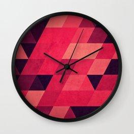 pynk Wall Clock