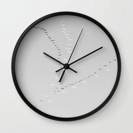 344 | west texas Wall Clock