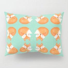 Sweet Sleeping Fox Pillow Sham