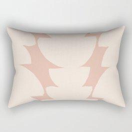 Bohemian Organic Pattern Rectangular Pillow