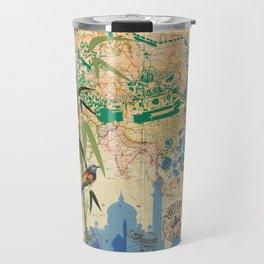India Taj Mahal Bamboo Agra Travel Mug
