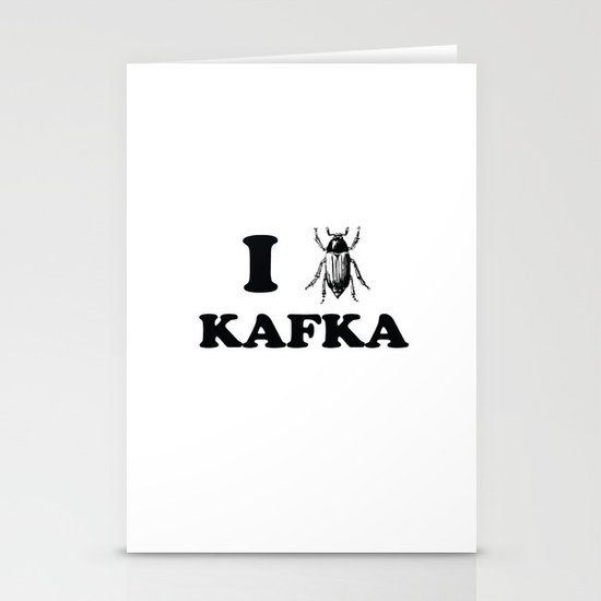 Kafka Stationery Cards