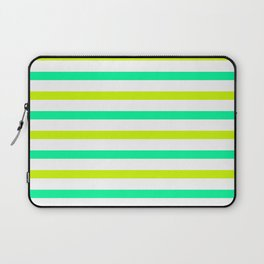 Green stripes Laptop Sleeve
