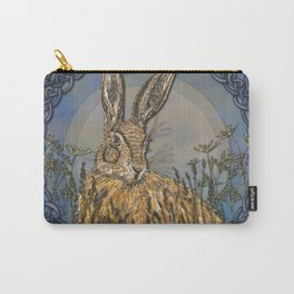 Celtic Hare Carry-All Pouch