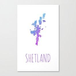 Shetland Canvas Print