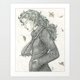 Autumn Dryad Art Print