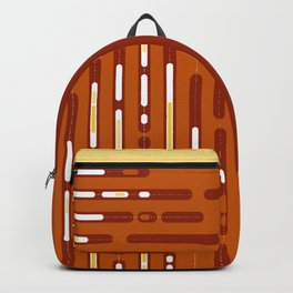 Sunset Dream – Orange / Yellow / Red Abstract Backpack