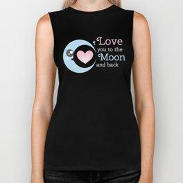 Moon Heart Biker Tank