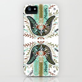 Hamsa Hand – Earth Palette iPhone Case