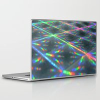 hologram Laptop & iPad Skins featuring Laser Paper by Griffin Lauerman