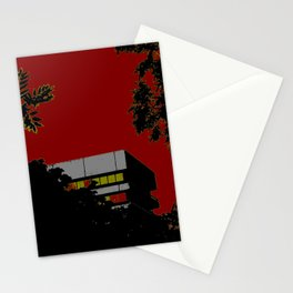House & trees Stationery Cards