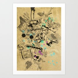 My Broken Dreams Art Print