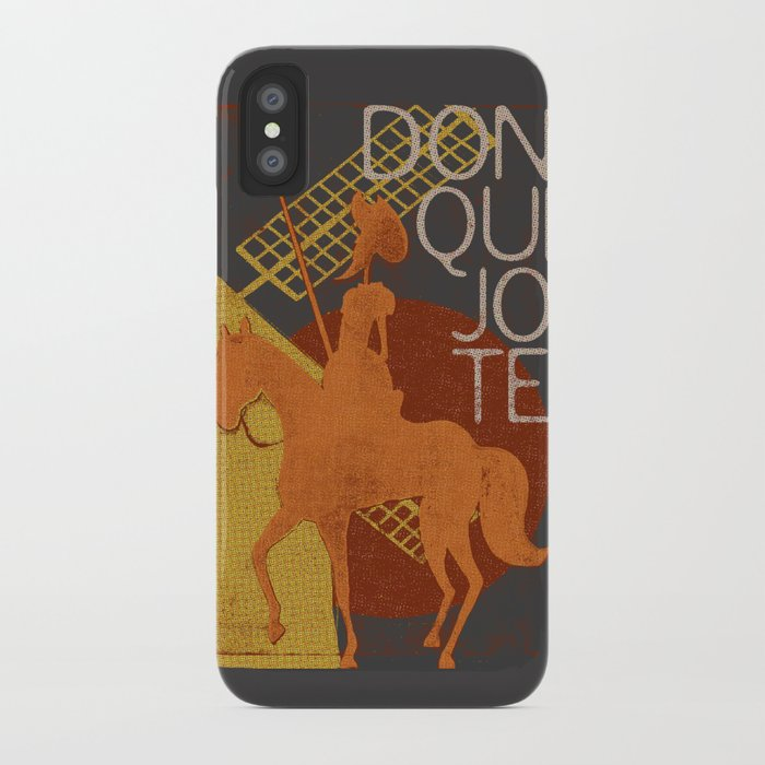 Books Collection: Don Quixote iPhone Case
