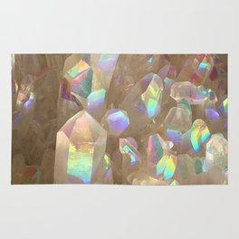 Unicorn Horn Aura Crystals Rug