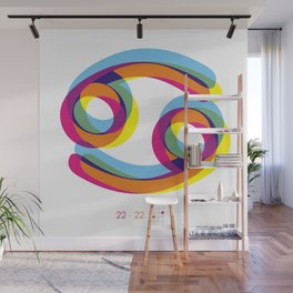 Cancer ~ Zodiac Wall Mural