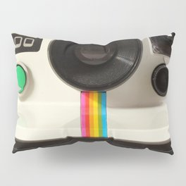 Retro 80's objects - Instant Camera Pillow Sham