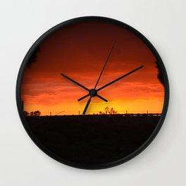Desert Skys Wall Clock