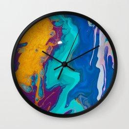 Acrylics By KD Wall Clock