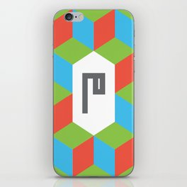 "Monogram Arabic Letter ""M"" iPhone Skin"