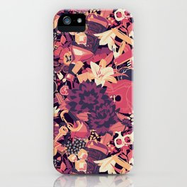 Black Dahlia (Blood Variant) iPhone Case
