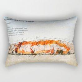 Uluru, Ayers Rock Rectangular Pillow