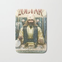 Zoltar the fortune teller London England UK Bath Mat
