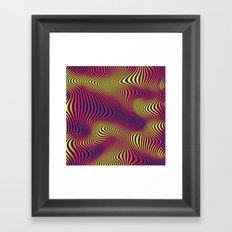 DISTORTION HOT Framed Art Print