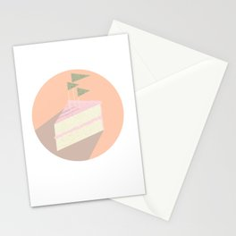 Always room for cake Stationery Cards