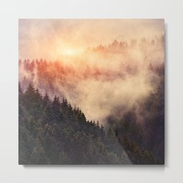 In My Other World Metal Print