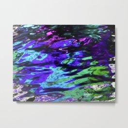 Color Reflected in Water Metal Print