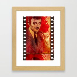 Gomez On Film Framed Art Print