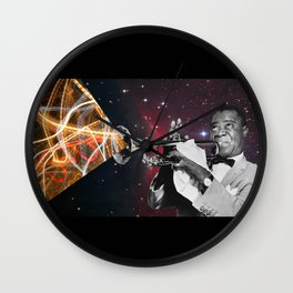 Louis Light (Digital Collage) Wall Clock