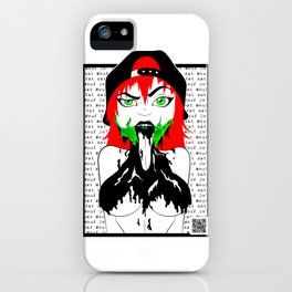 What That Mouth Do, Tho? iPhone Case
