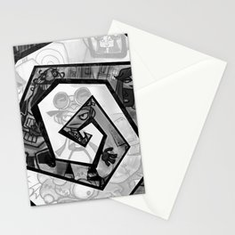Past the madness... Stationery Cards