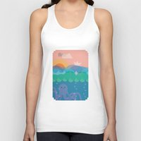 under the sea Tank Tops featuring Under Sea by Loop in the mind