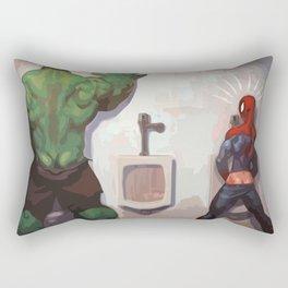 Big Hulk Rectangular Pillow