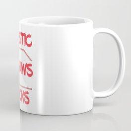 Plastic Straws Sucks Coffee Mug