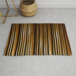 SCOTCH whiskey wood slats with shadows Rug