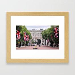 Admiralty Arch, London Framed Art Print
