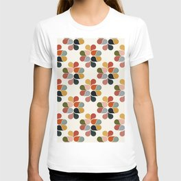 Retro geometry pattern T-shirt