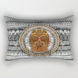 Aztec c3po Droid iPhone 4 4s 5 5c 6, pillow case, mugs and tshirt Rectangular Pillow